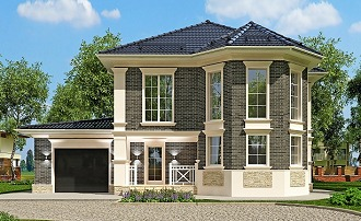Готовые проекты домов из бруса, цены в Екатеринбурге